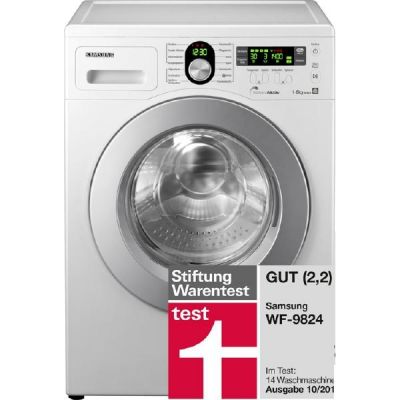 waschmaschine samsung wf 9824 testbericht produkt news. Black Bedroom Furniture Sets. Home Design Ideas